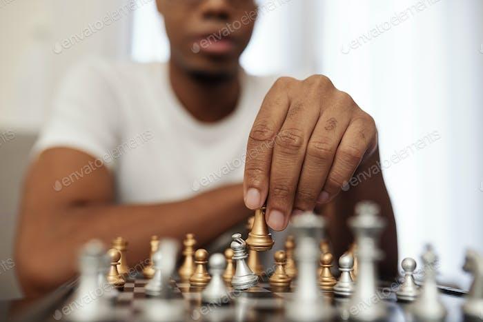 Playing chess during quarantine