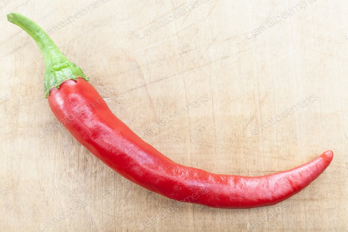 Single Red Chili