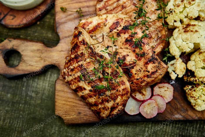Thumbnail for Grilled turkey meat.