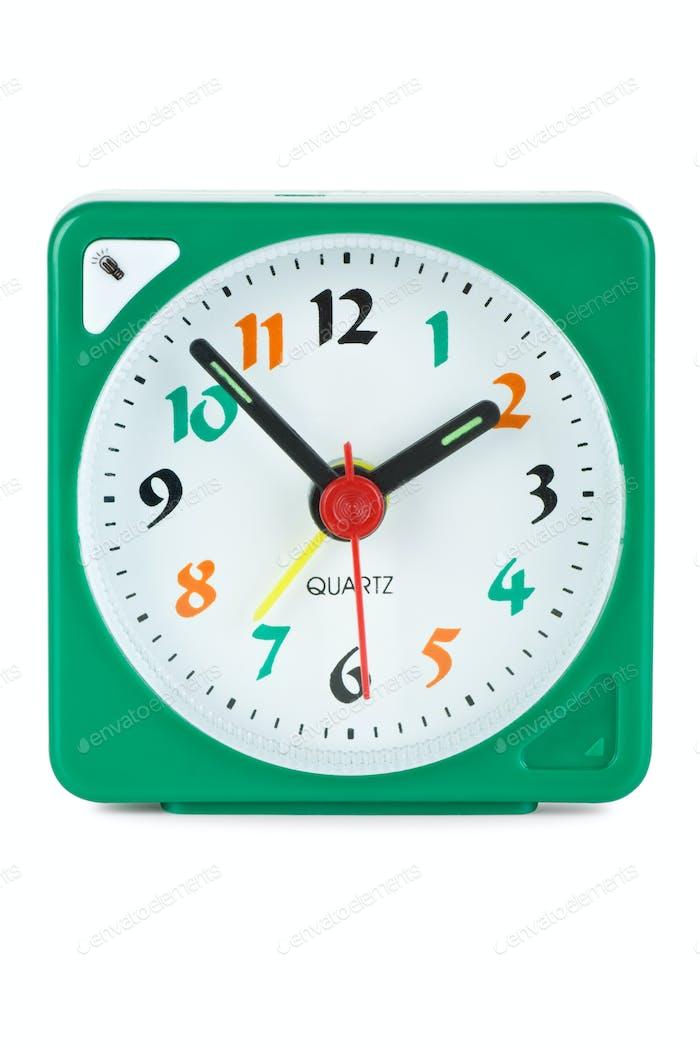 Cheap quartz alarm clock