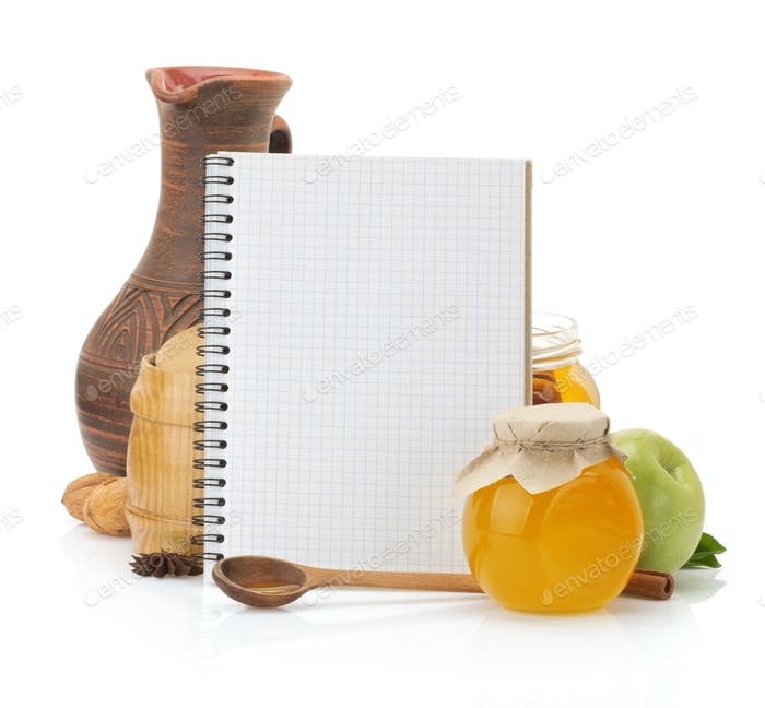 cooking recipes book and food
