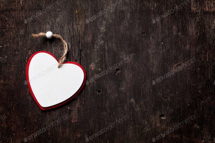 Valentines day heart shape decor