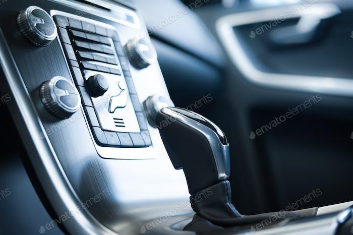 Schaltung in einem modernen Auto