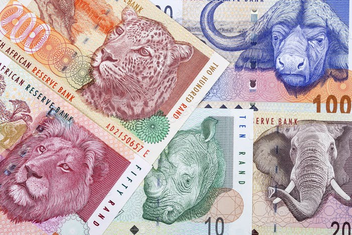 Old South African money a business background