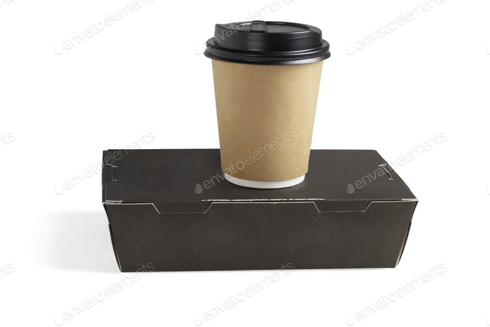 Coffee Cup and Takeaway Lunch Box