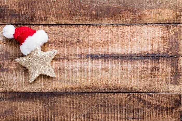 Weihnachts-HolzHintergründe.