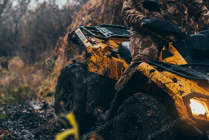 Tough terrain for a tough man