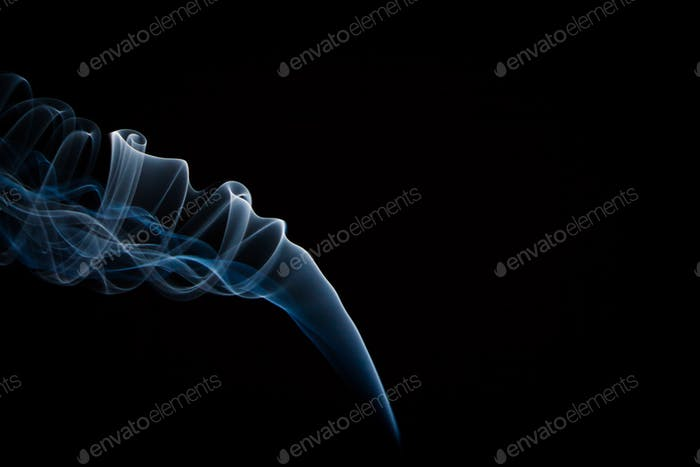 Delicate Blue smoke