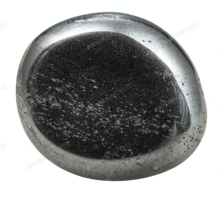 tumbled hematite natural mineral gem stone