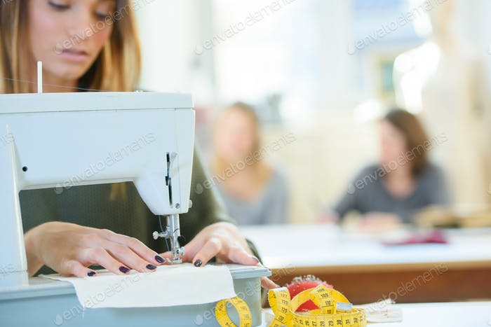 sewing a fabric
