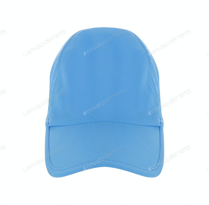 Blue Baseball Hat isolated