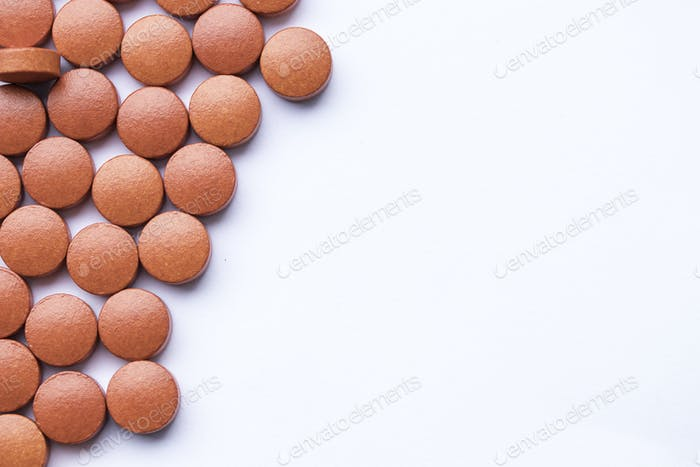 medicine red capsule