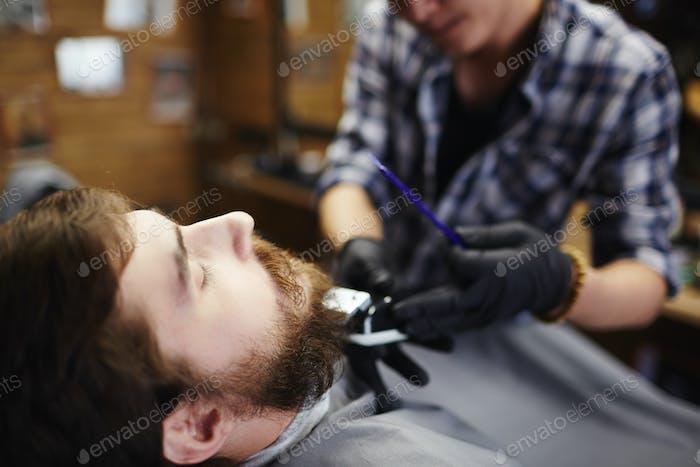 Professional shaving