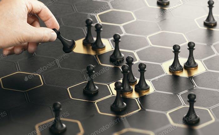 Estrategia de reposicionamiento o posicionamiento en el mercado.
