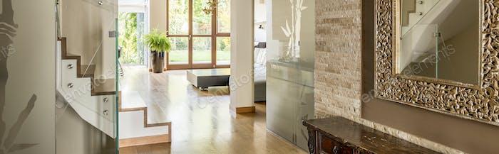 Corridor of elegant house