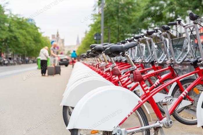 Bicycle rental, Europe, bike rent