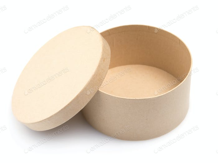Caja de Papel redonda