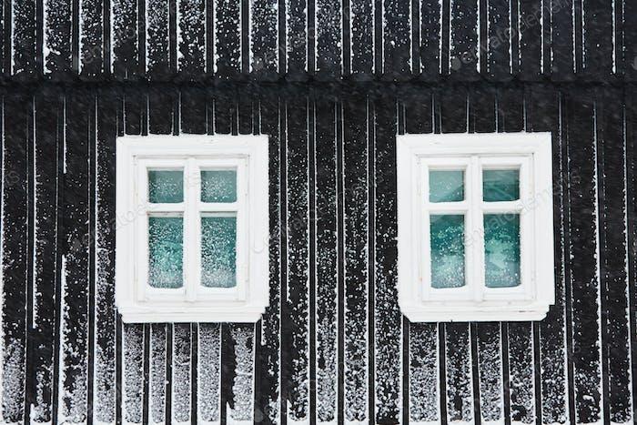 Frosty winter