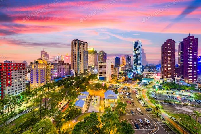 Taichung, Taiwans Skyline