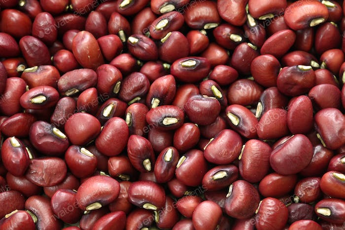 Japanese red beans ( Sasage ), background