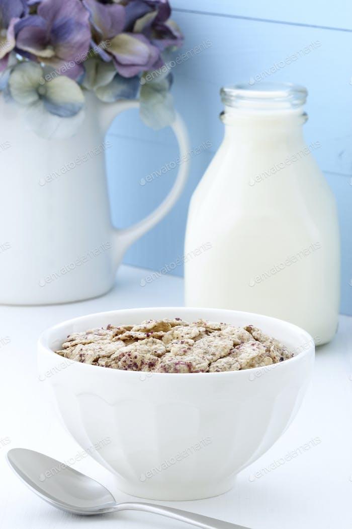 vintage cereal breakfast
