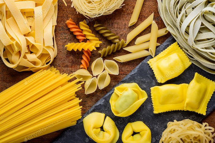 Different Pasta Types