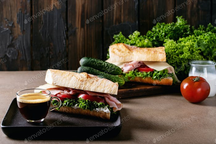 Hausgemachtes Sandwich
