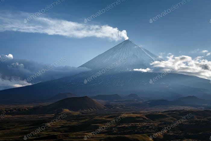 Klyuchevskaya Sopka (Klyuchevskoy Volcano) - Active Volcano