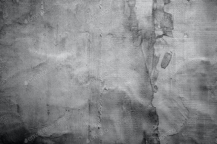 Abstract dark gray plaster texture