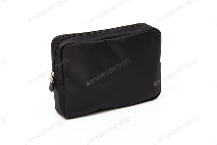 Golf pouch, black bag