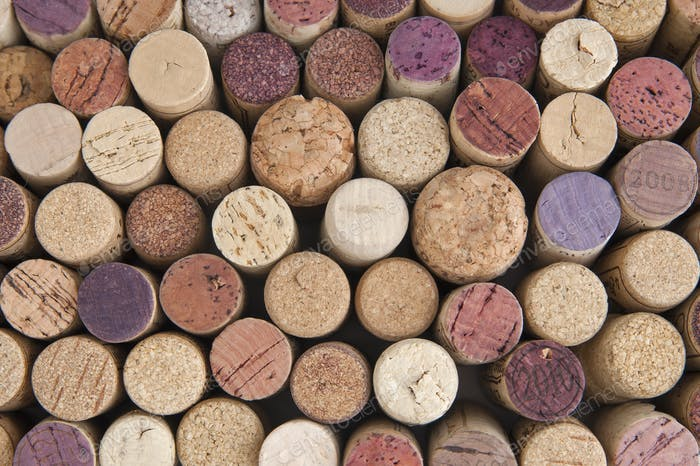 Wine corks. Background.