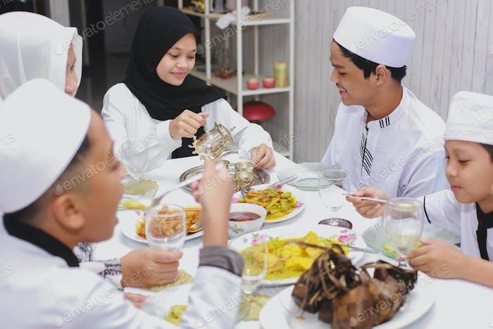 Eid Mubarak Family Celebration