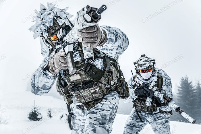 Action above the arctic circle