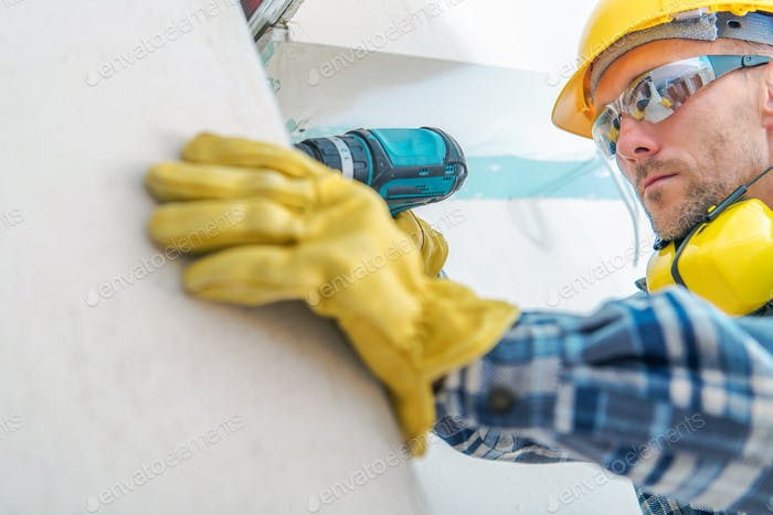 Contractor Remodeling Job