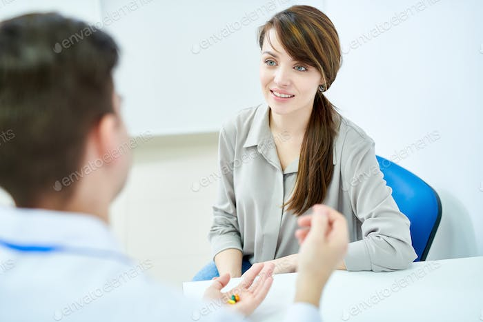 Female Patient Visiting Doctor