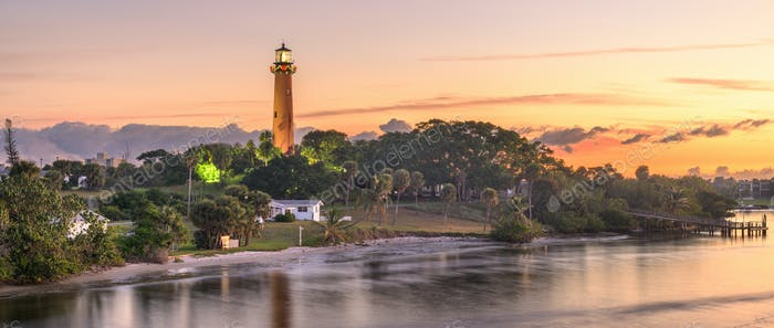 Jupiter, Florida, USA at Jupiter Inlet Light
