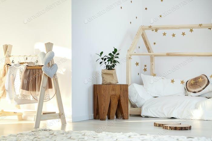 Stylish girl's room