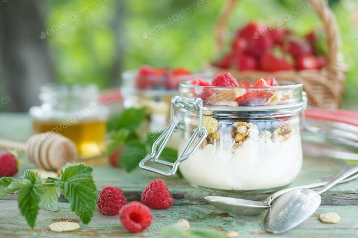 Delicious yogurt