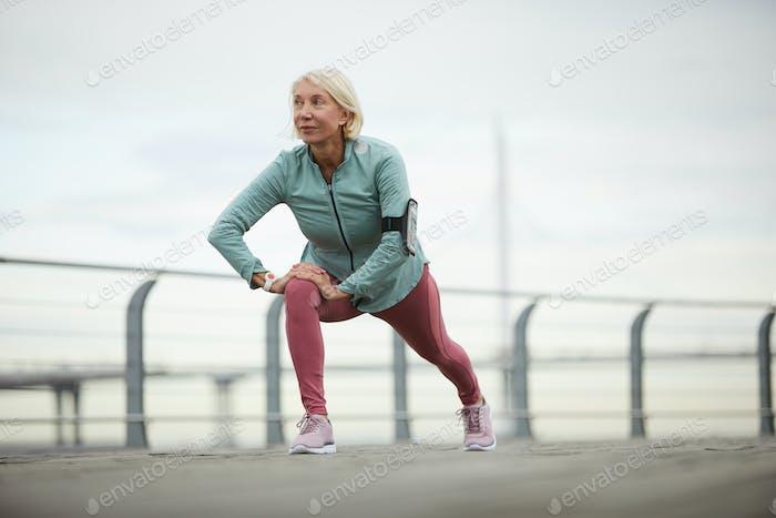 Stretching-Übung