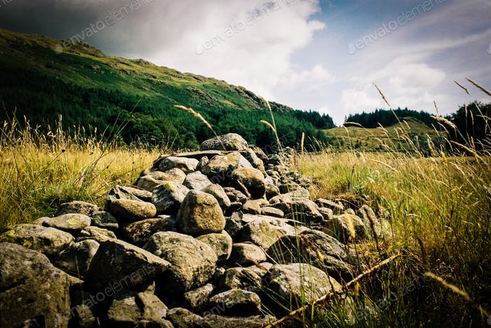 Lake District Stone Wall