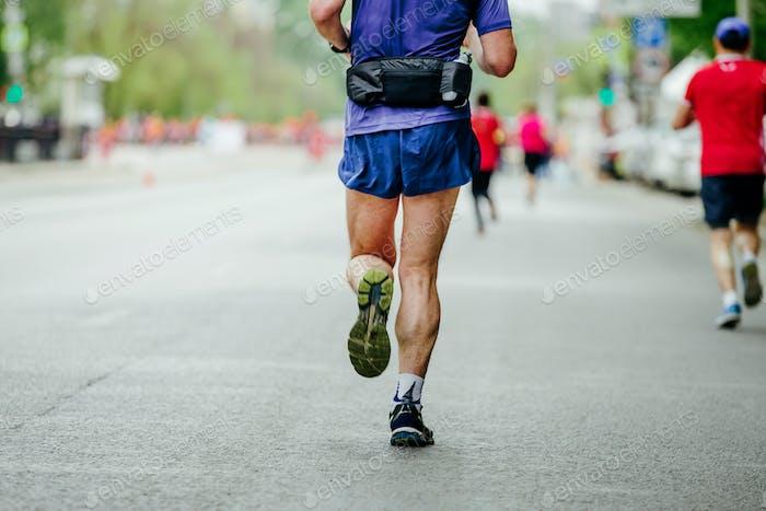back male runner