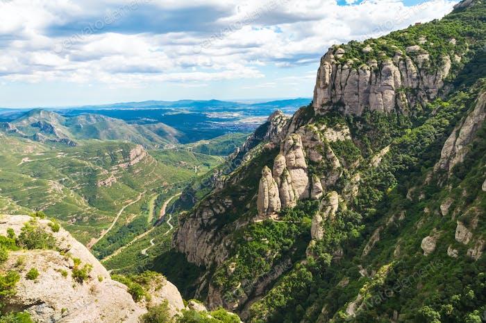 Der Berg von Montserrat