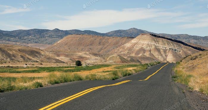 Painted Hills Fossil Beds Oregon State USA Nordamerika