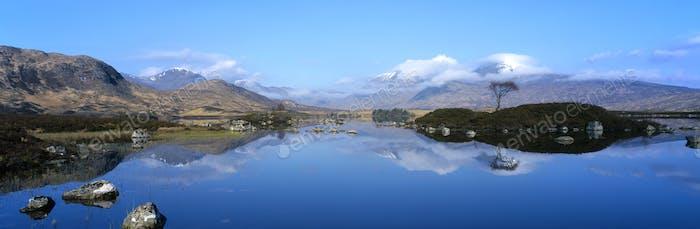 idyllic reflection