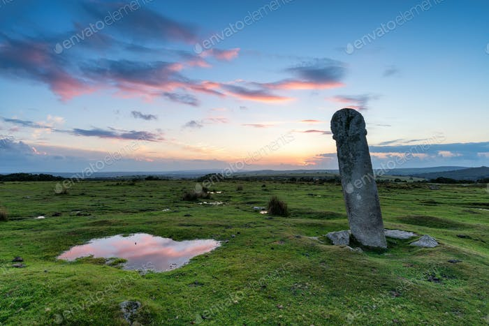 Long Tom on Bodmin Moor