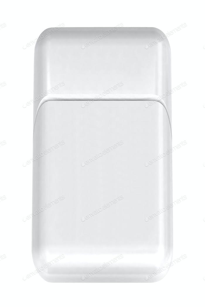 Beautiful Make up bag isolated on white