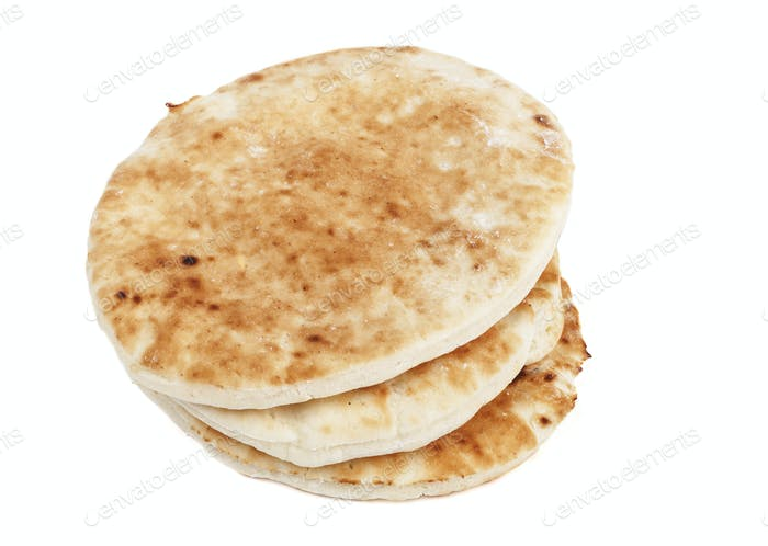 Isolated Pita