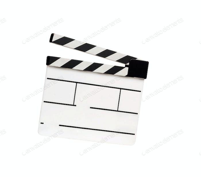Filmklapper isoliert