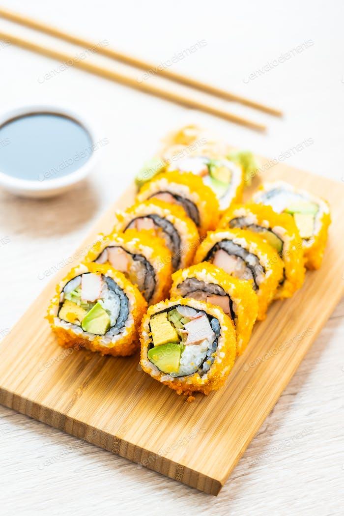 Kalifornischer Maki Brötchen Sushi