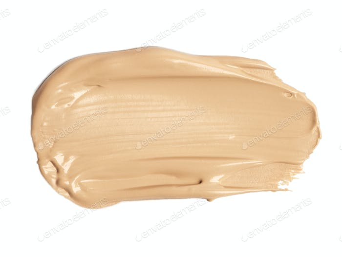 Foundation color sample